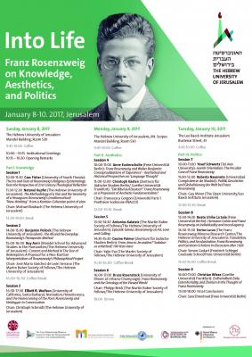 Rosenzweig Conference