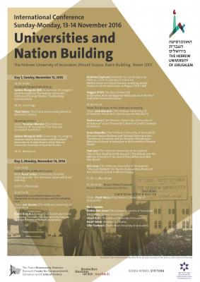 Universities and Nation Building Program