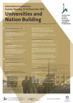 Universities and Nation Building Program